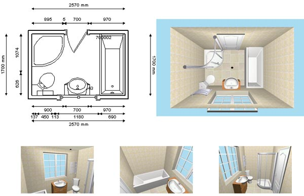 Bathroom design service dungarvan 3d design curran for Bathroom design planner